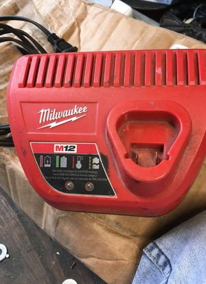 Milwaukee m12 charger for Sale in Virginia Beach, VA