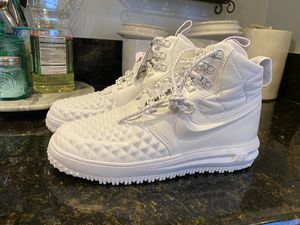 Photo Nike Lunar Force 1 Duckboot Winter White ((((only size 8 available )))