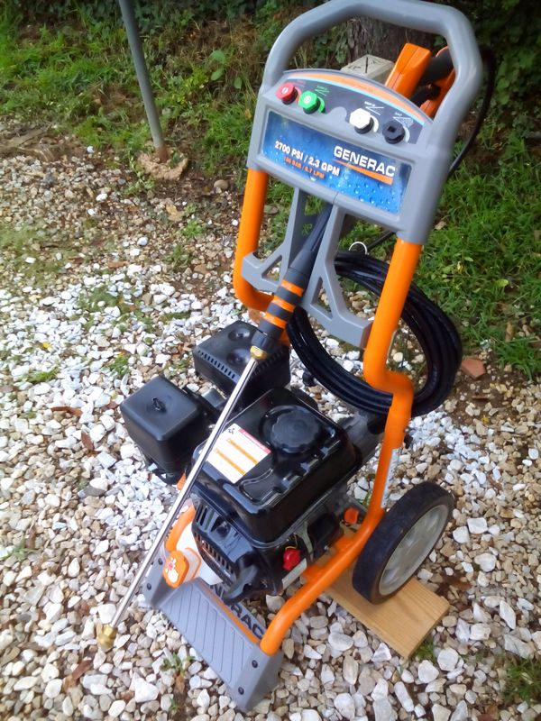 Generac Gas Pressure Washer, 2700 PSI, 2 3 GPM, New upgraded pump for Sale  in Swannanoa, NC - OfferUp
