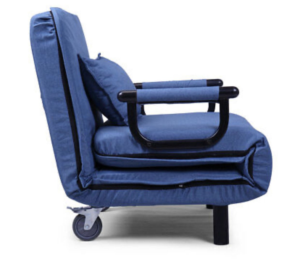 Sofa Bed Folding Arm Chair Width Convertible Sleeper Recliner Lounge New