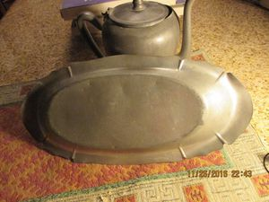 Old Pewter dining ware from Massachusetts for Sale in Las Vegas, NV