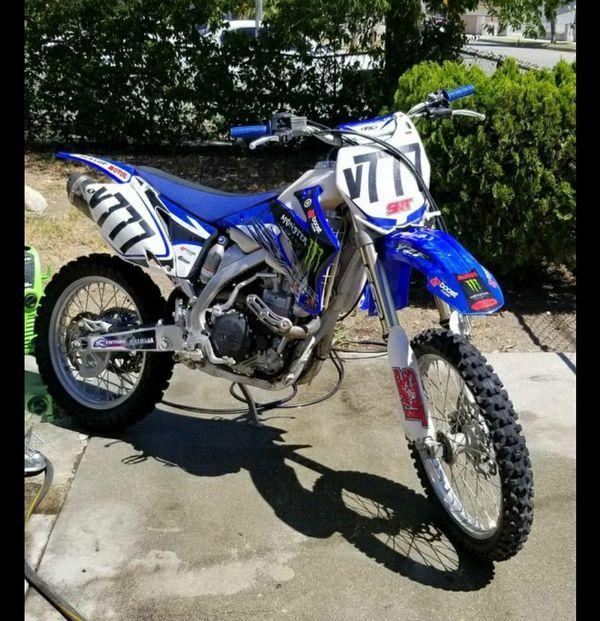 2008 Yamaha YZ450F Mx for sale on 2040-motos