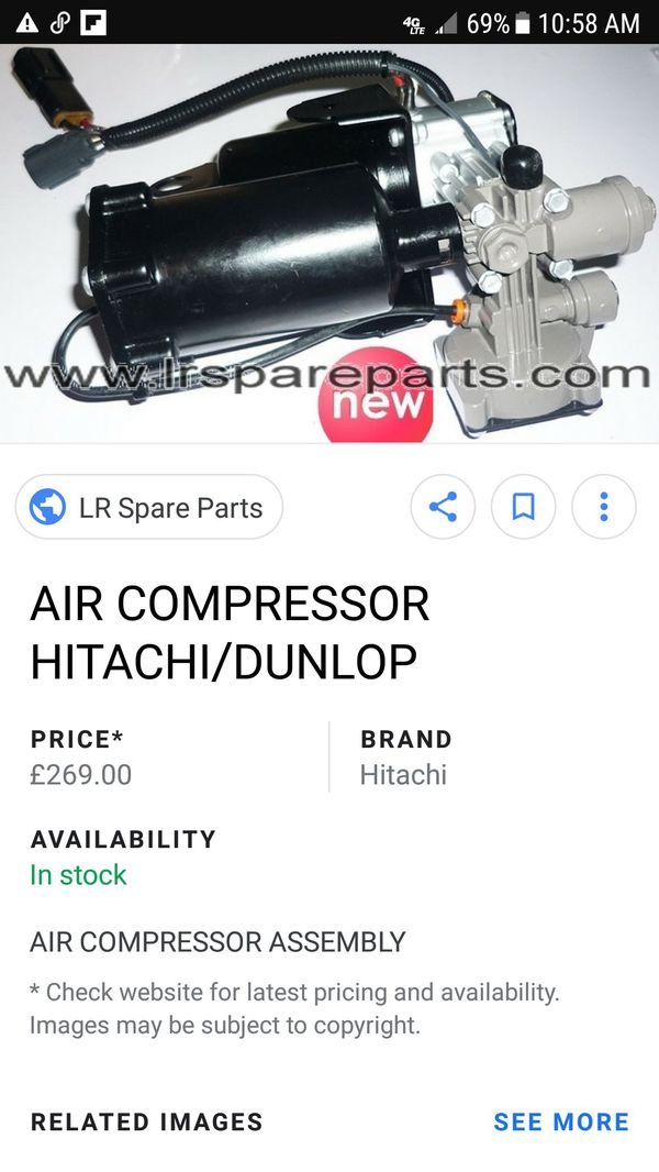 Lr3 air suspension compressor used for Sale in Las Vegas, NV - OfferUp