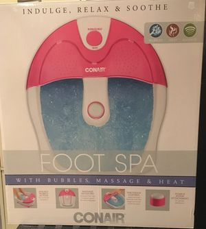 Like New Conair Foot Spa (only used a few times) for Sale in Burke, VA