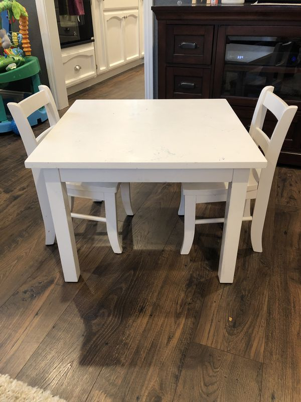 Fine Pottery Barn Kids My First Play Table For Sale In Castro Spiritservingveterans Wood Chair Design Ideas Spiritservingveteransorg