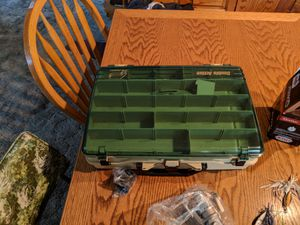 Bass lures and tackle box for Sale in Fresno, CA