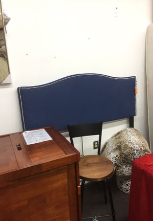 Headboard blue full size alexandria for Sale in Alexandria, VA