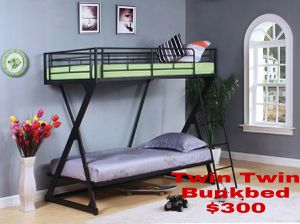 Twin Twin Bunkbed for Sale in Tampa, FL