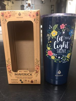 Photo Maverick double wall vacuum insulated stainless steel 20oz tumbler
