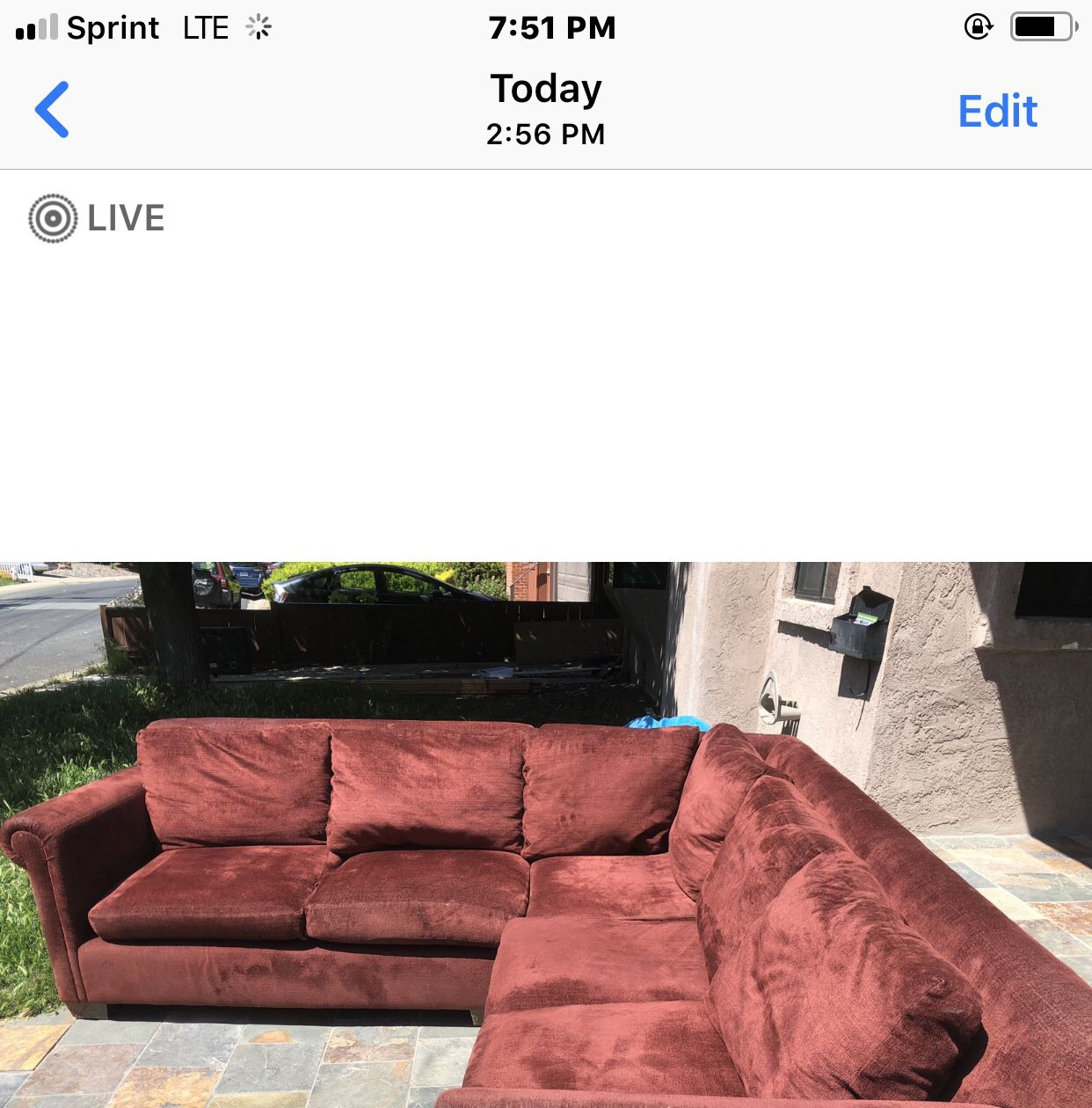 Couch ( two piece)