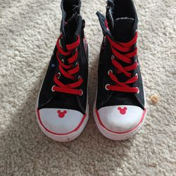 Disney Mickey Mouse Canvas Shoe Size Toddler 10 Thumbnail