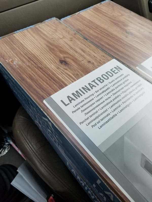 1 Box Ebb Tide Oak 7mm Laminate Flooring 28 Sf Ft For In Portland Or Offerup