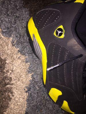 "Jordan retro 14 "" thunders"" size 11 for Sale in Annandale, VA"