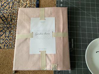 Grove Collaborative Garden Rose Linen APRON NWT Thumbnail