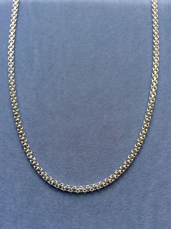 Las 2pc Bismark Set Necklace Bracelet Sterling Silver Italy 925 Pickup Boca Raton Jewelry Accessories In Fl Offerup