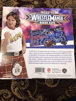 Road to WrestleMania Board Game Thumbnail