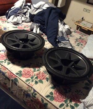 Photo 15 inch kicker subwoofers