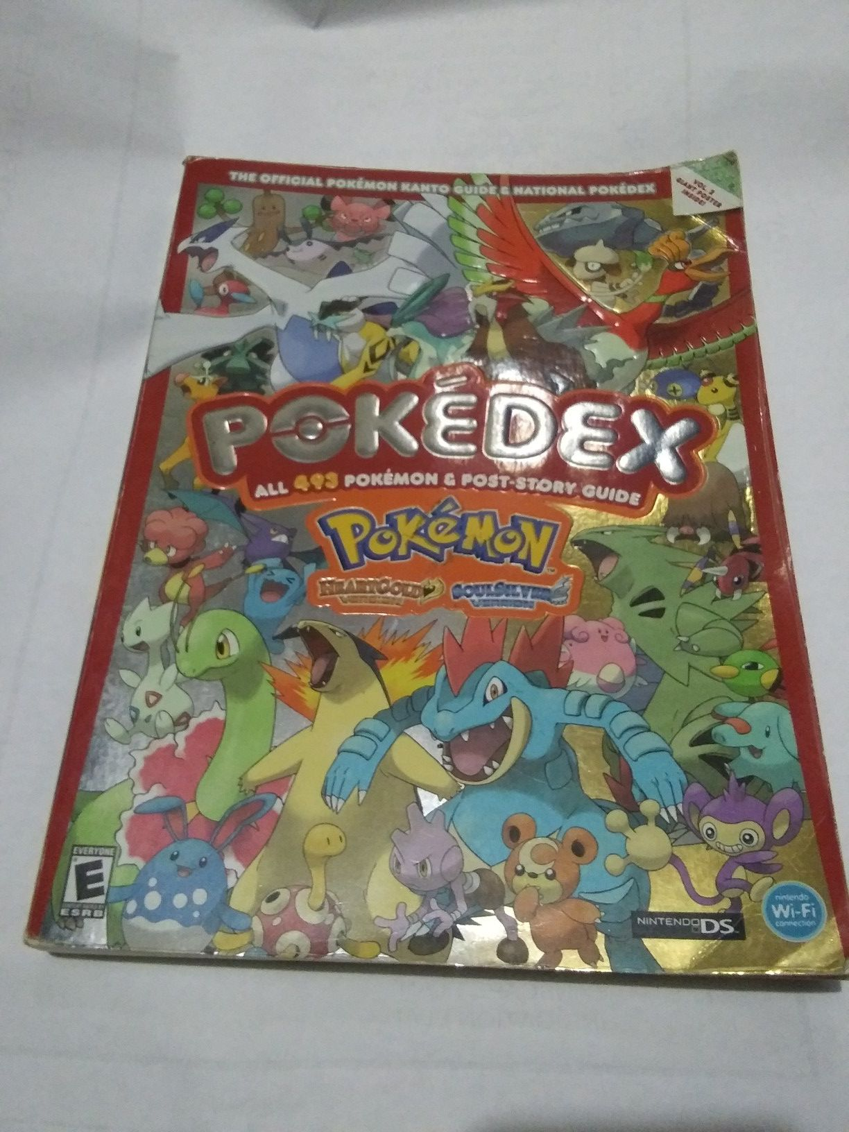 pokedex for heart gold and soul silver