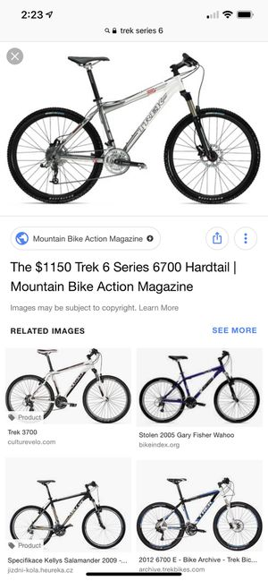 Trek Mountain Bike series 6 6000 hardtail 2009 for Sale in Lincoln, CA -  OfferUp