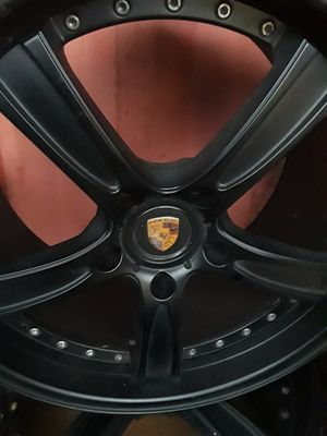 "Set off 4 Porsche 19"" rims for Sale in Alexandria, VA"