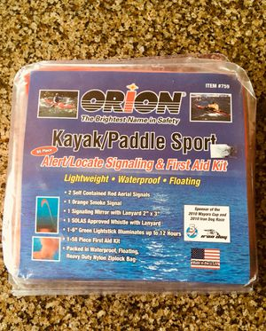 Inflatable kayak Signaling and first aid kit for Sale in Portland, OR