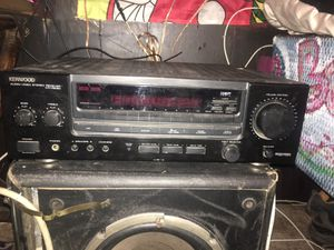 Kenwood home stereo system for Sale in Lafayette, LA