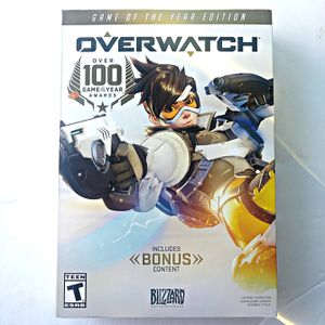 Overwatch Game of the Year Edition PC WINDOWS BRAND NEW SEALED for Sale in San Diego, CA