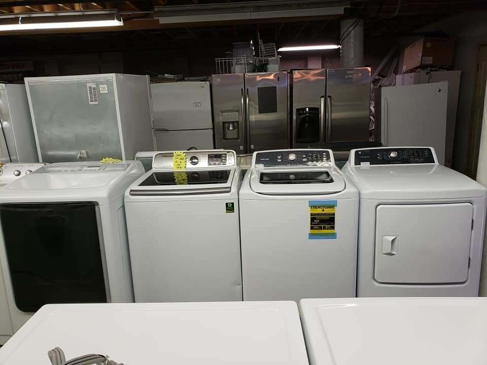 """Blow out sales like new appliances 60 days free warranty(store address 21639 pacific hwy S Des moines wa 98198,**""""\""""7"""