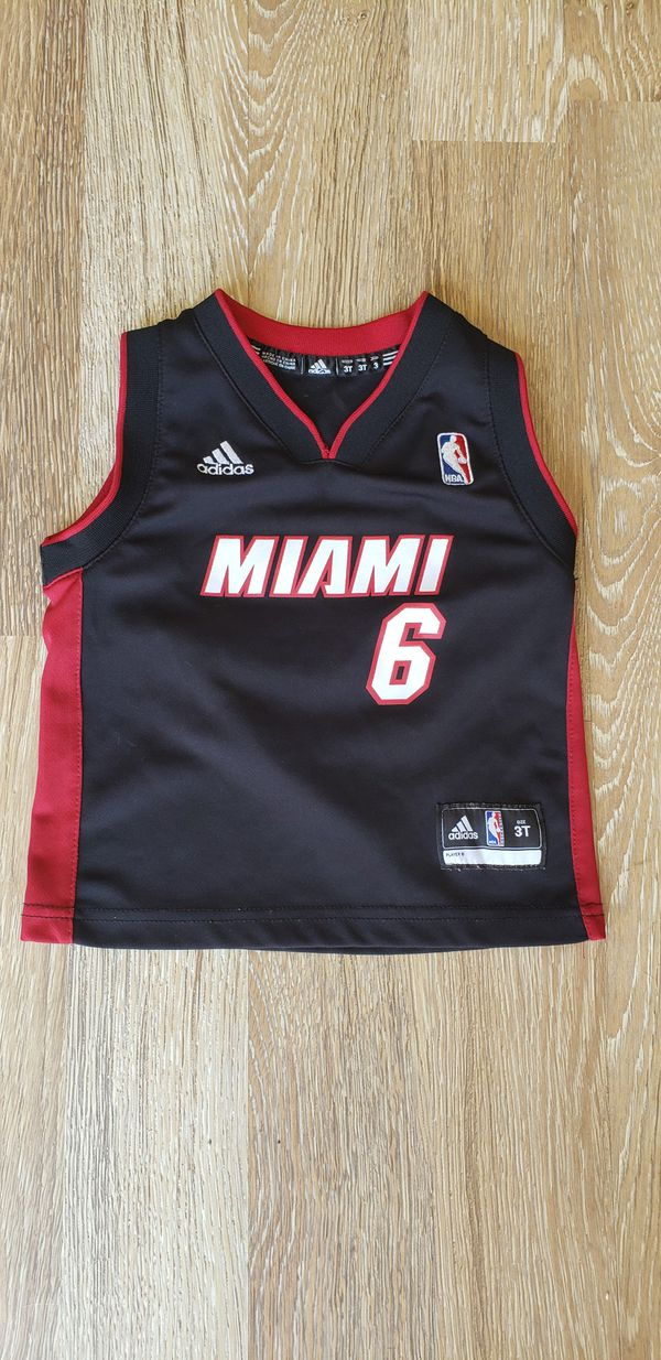 best authentic cfe8d 40938 Adidas Miami heat lebron james toddler jersey for Sale in Las Vegas, NV -  OfferUp