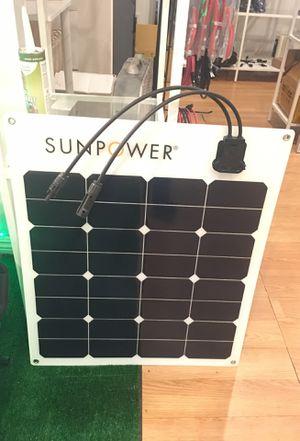 Sunpower 50 watt 12 volt flexible solar panel for Sale in Pasadena, CA