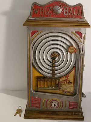 Vintage 1930s whiz ball penny game for Sale in Spout Spring, VA