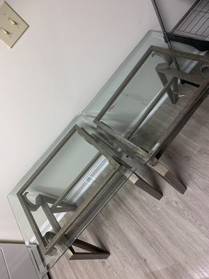 End glass tables for Sale in Manassas, VA