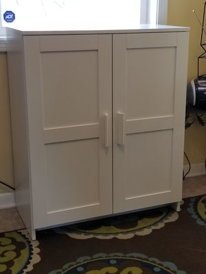 Photo White Ikea Cabinet