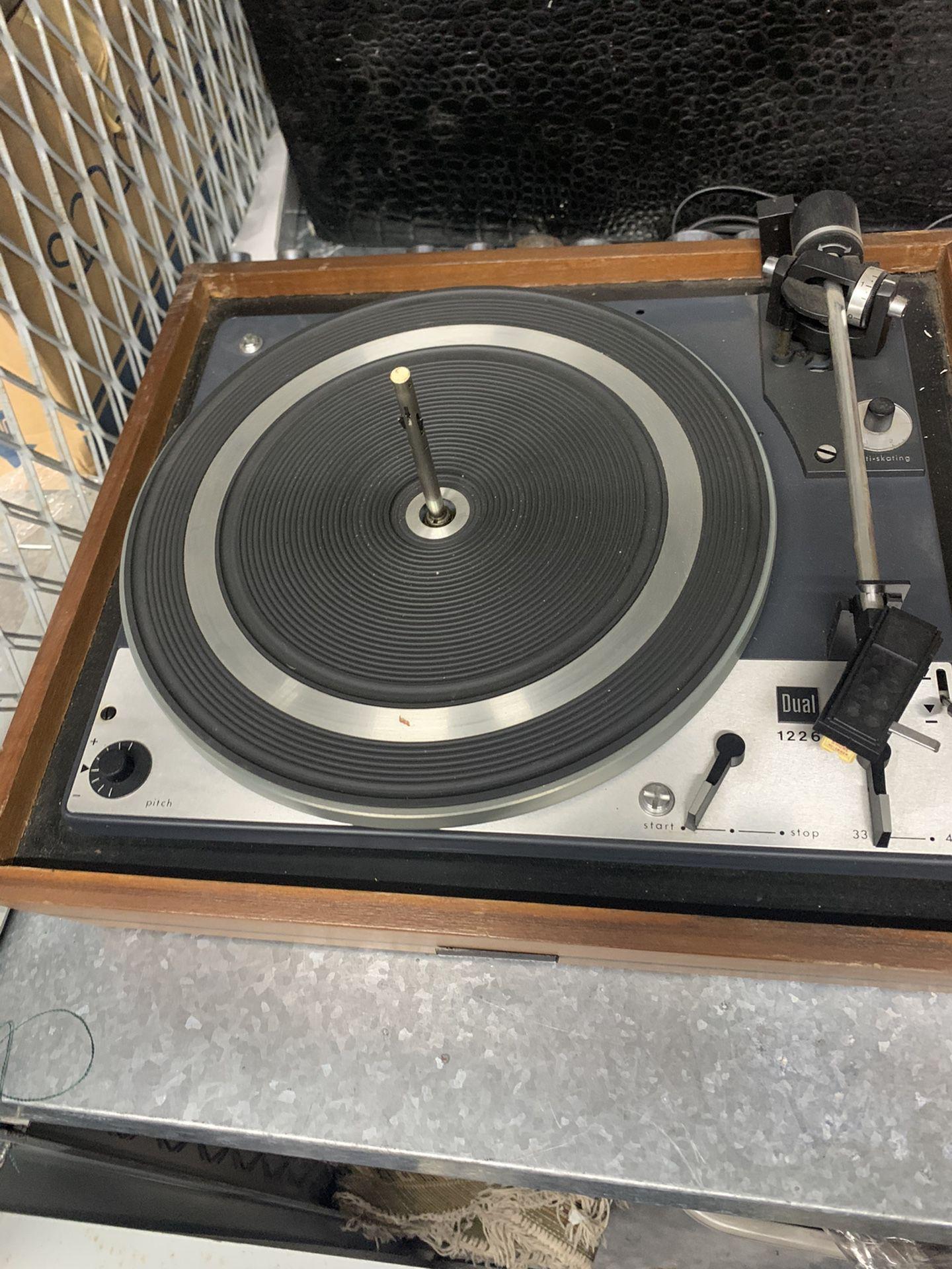 Vintage Audiophile Dual Turntable