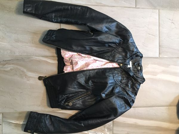 100% genuine cute cheap big discount Steve Madden real leather jacket! size L for Sale in Sumner, WA - OfferUp