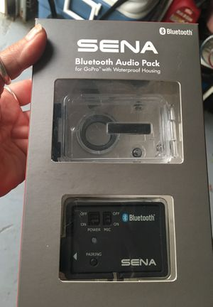 Bluetooth audio pack for go pro with waterproof casing for Sale in Longwood, FL