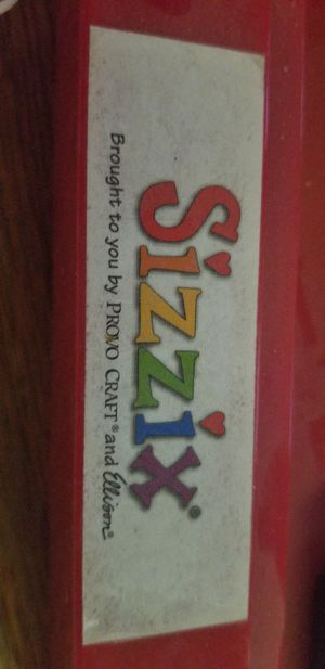 Photo Sizzix Die Cut Machine/press for Arts and crafts card making