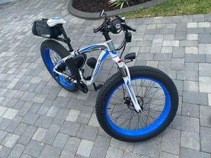 Photo Electric Fat Tire Mountain Bike