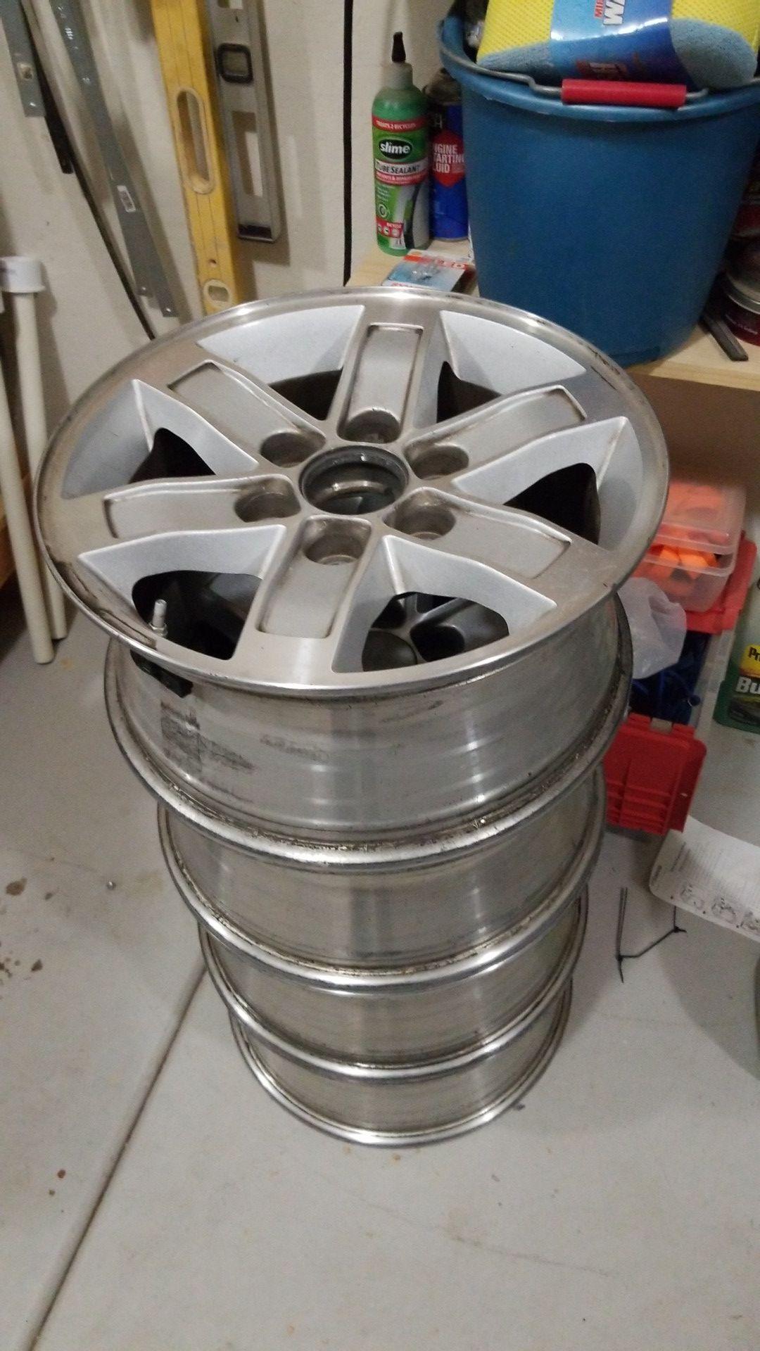 4 truck wheels