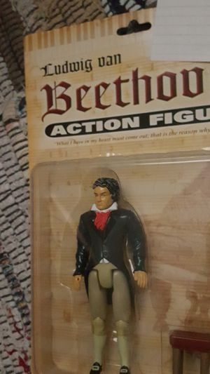 Ludwig van Beethoven action figure piano musician toy for Sale in Scottsdale, AZ