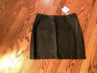 New w Tags BBDakota /Steve Madden Faux Leather Skirt w Zipper (similar to last Picture). Size 10 Thumbnail