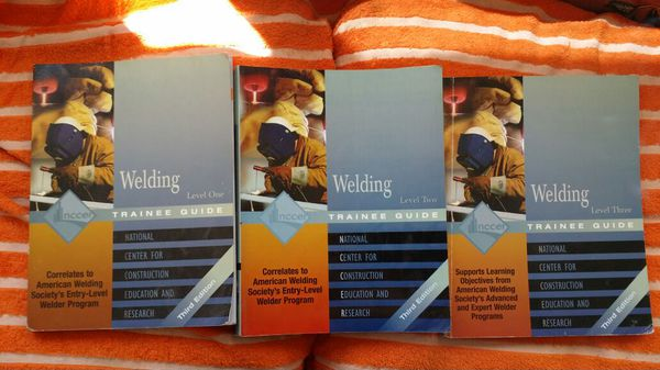 Nccer welding guides 3rd edition   for Sale in Glendale, AZ - OfferUp