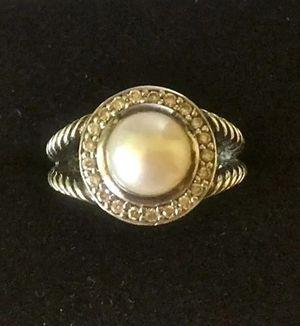 David Yurman Pearl Diamond Cerise Ring for Sale in Aldie, VA