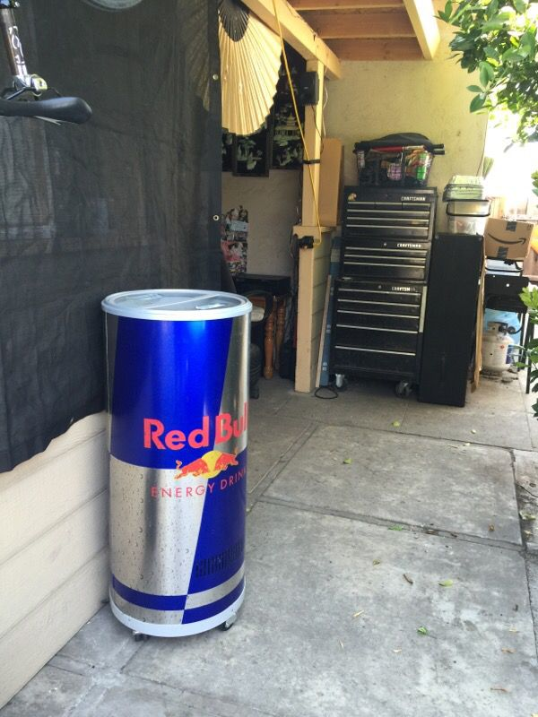 8bb0c3f8970 Electric Red Bull Cooler for Sale in Fremont
