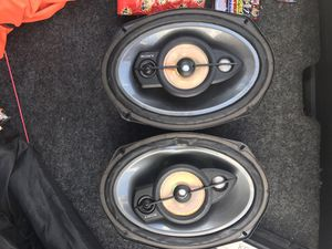Sony 6x9 3 way Speakers for Sale in Tampa, FL