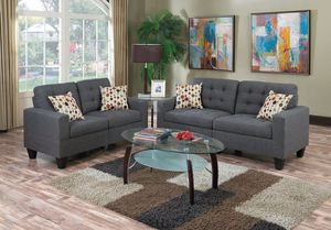 New! Gray Sofa and Loveseat for Sale in Silver Spring, MD