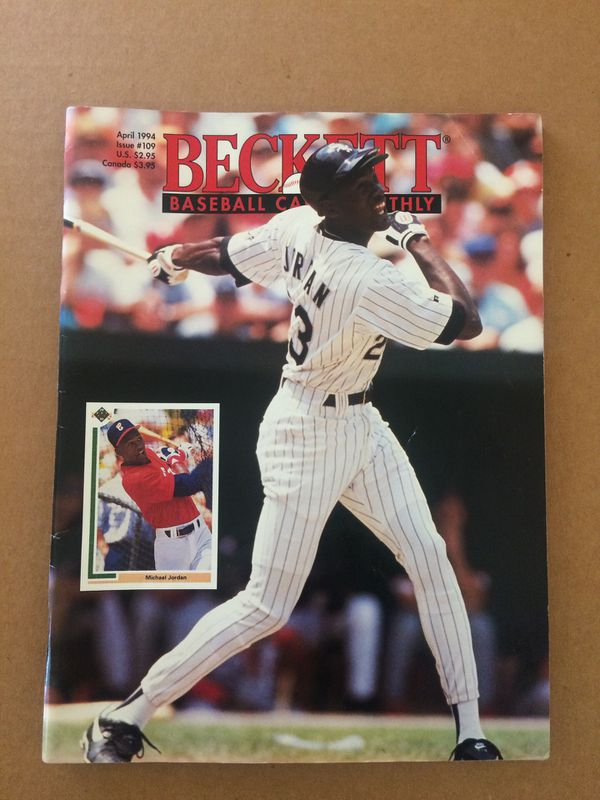 Beckett Baseball Card Price Guide 1994 Michael Jordan For Sale In Hesperia Ca Offerup