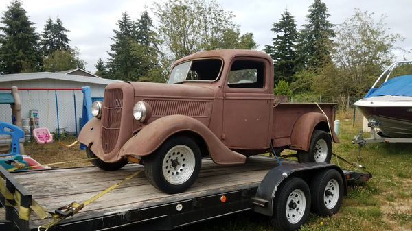 Used Truck Dealerships >> 1937 ford pickup project for Sale in Seattle, WA - OfferUp