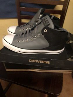 Brand New Leather Converse Thumbnail