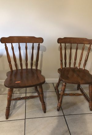 Chair wood for Sale in Orlando, FL